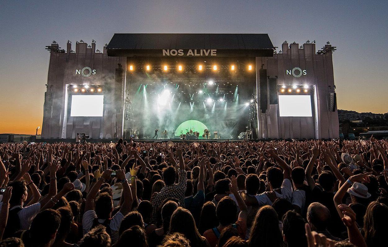 NOS PRIMAVERA SOUND 2014 stage