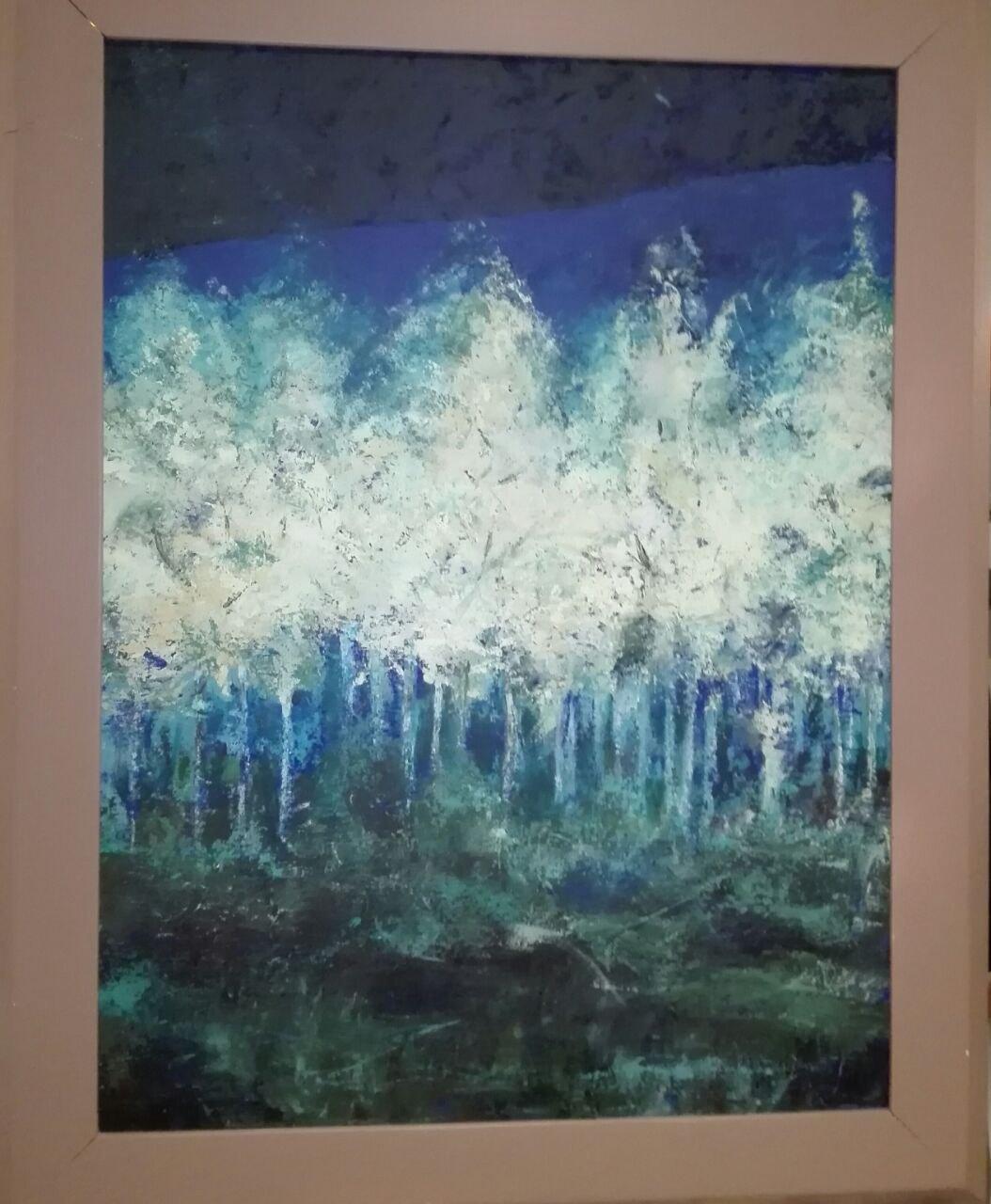 'La luna negli alberi'- Fabiana Del Signore. jpg